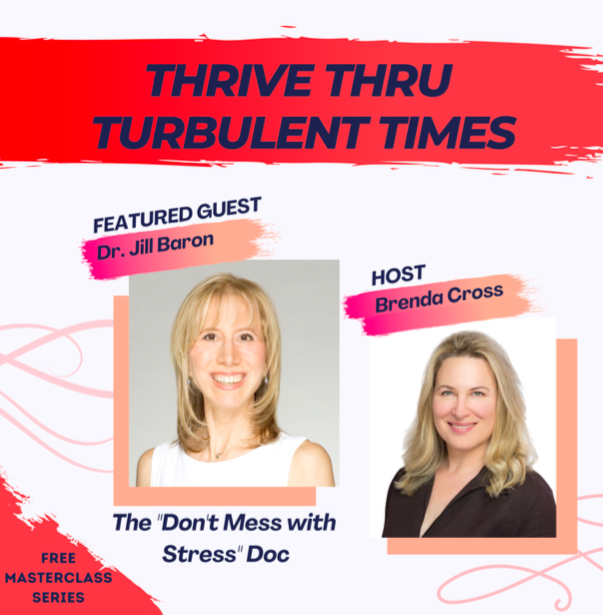 """My Video Interview TODAY–""""How To THRIVE During These Turbulent Times!"""