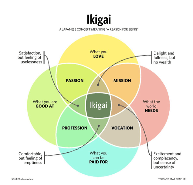 Finding Your Ikigai in 2021